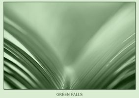 Green falls by digitalarts65