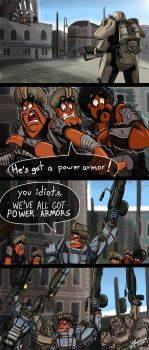 We've All Got Power Armors by Charleian