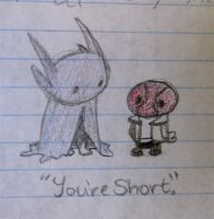 You're Short. by Atlantistel