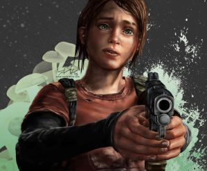 Last of Us - Ellie by seanbianchi