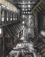 Inside the Hive by Crowsrock