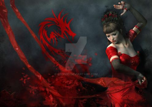 The Dancer and the Dragon by Zoon3d