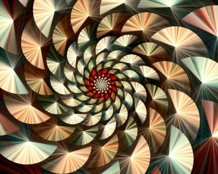 conic spiral by cyberxaos