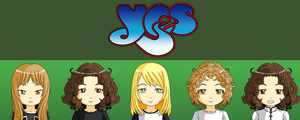Yes - 70's Line-Up by hitop211