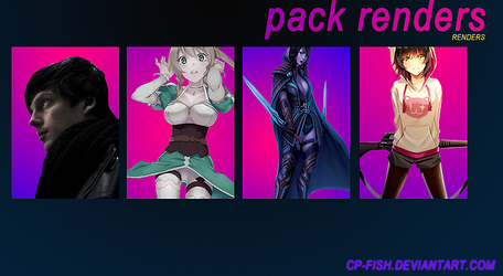 Pack renders by Cp-Fish