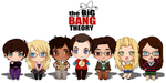 The Big Bang Theory's 100th Episode by pixelpoe