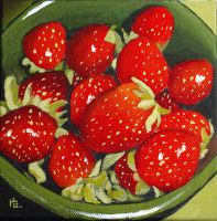 strawberries by classina