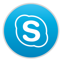 Skype Icon for Mac OS X by hamzasaleem