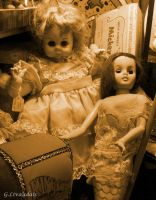 Antique Dolls by Kicks02