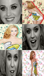 Collage BitchPleaseImPitufina by MiliDirectionerJB