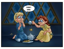 a FROZEN Tea party by resa-challender