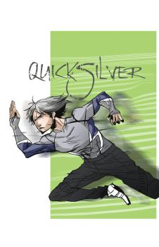 Quicksilver Age of Ultron by coolmonkeyd
