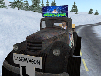 Laserwagon adventure by Laserskater
