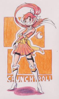 Crunchy Roll's Hime by Jonishan