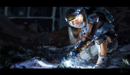 The Martian by vincentee