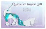 Custom Quirlicorn Import 328 by Astralseed
