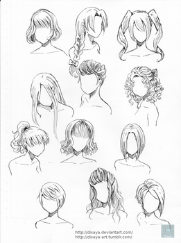 Hair reference 2 by Disaya