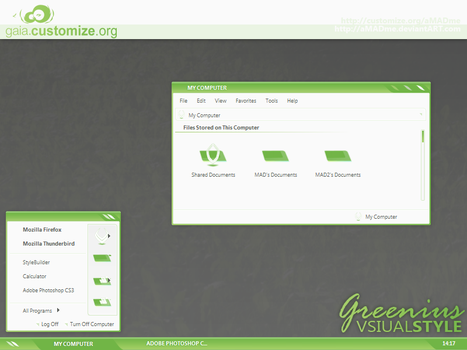 Greenius.VS for GAIA 1.1 by aMADme