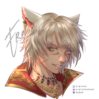 CM : curry - custom FFIXV commission open by ergione