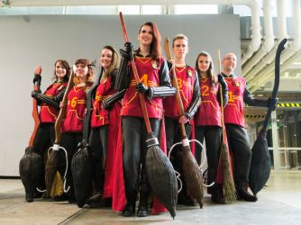 Quidditch Team Cosplay by Zapphyre