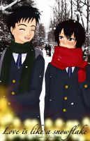 .: Love is like a snowflake - Cover :. by OhAnika