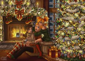 The warmth of Christmas by Enock