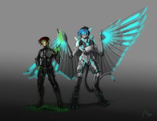 Collab with Fan: Heroes and Villains by Laitiel