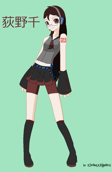 Vocaloid OC by Linadoon