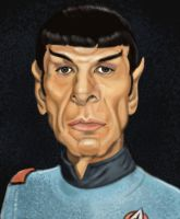 Mr. Spock by adavis57