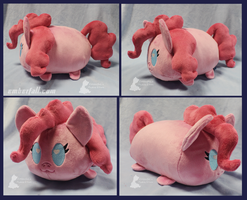 12in Pinkie Loaf by EmberfallPlush
