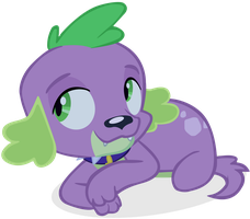 Dog Spike Vector by cool77778