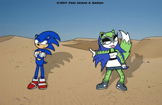 Request - Sonic And Twirl by chelano