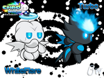 Chao World S3 - Black and White Wallpaper by Blizzard-White