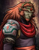 Ganondorf - Great King of Evil by lunajile