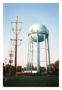 2017-260 Sea Breeze Water Tower by pearwood