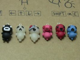 Binding of Isaac 'Familiar' Charms by MEWtube3000