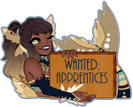 [OC]: Apprentices Wanted!!! by SimplyDefault