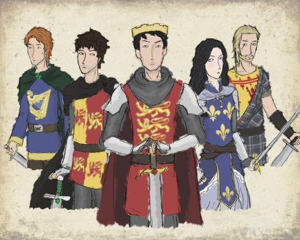 satw - britain, ireland, and france - medieval by aldohyeah