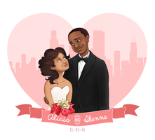 Alicia-Ikenna-Wedding by shaione