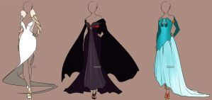 Fashion Adoptables Auction 5 - CLOSED by Karijn-s-Basement