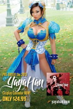 New Chun Li cosplay - Calendar Pre-order by yayacosplay