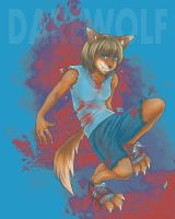 Darewolf: Roller Derby Rookie by Of-Red-And-Blue