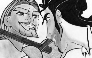 Miguel and Tulio by 7aphira