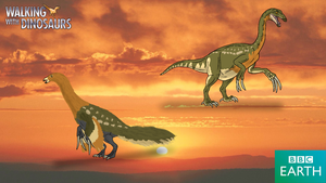 Walking with Dinosaurs: Therizinosaurus by TrefRex