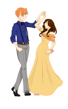 Introductions and Waltzing by InASingleMoment