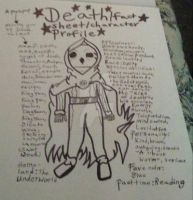 Death/fact sheet/character profile  by TheDarkReaper5000