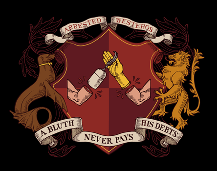 Arrested Westeros shirt - A Coat of Arms by shoomlah