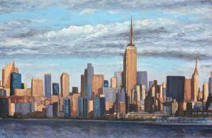 NYC SKYLINE by Wulff-Arts