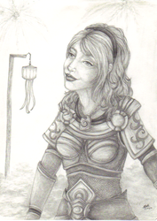 Lux Lady of Luminosity - Art of Revelry contest by Msterope