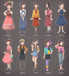 20th Century Styles by spiffychicken